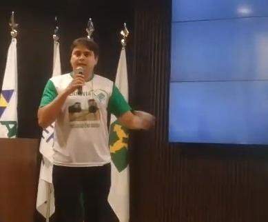 Vereador 'Cesinha' participou das Audiências para a construção da Ferrovia de Integração Centro-Oeste